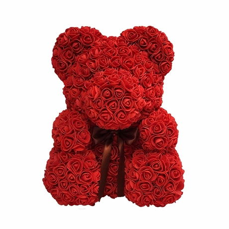 Мишка из роз UFT Bear Flowers UFT BB5 Red