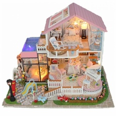 3D Интерьерный конструктор Midsize DIY Doll House MASSLINNA Sweet words